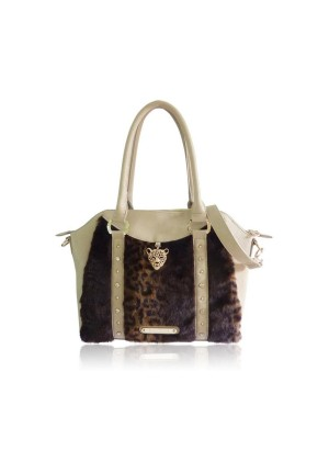 The Hudson Bag by Anna Smith in Beige