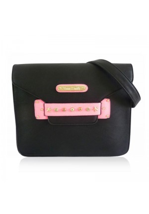 The Russo Bag by Anna Smith in Black