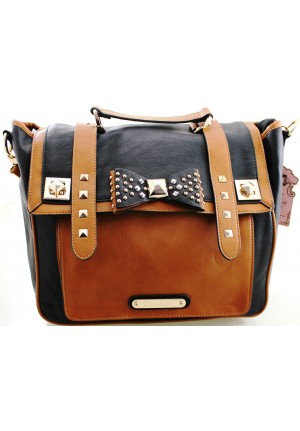 The Lura Bag by Anna Smith in Black & Brown