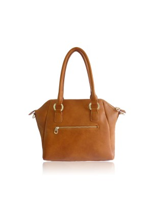 The Hudson Bag by Anna Smith in Tan