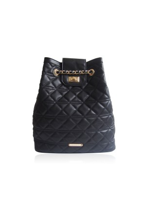 The Bollin Quilted Rucksack by LYDC